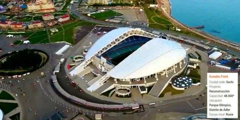 Estadio Olímpico Fisht