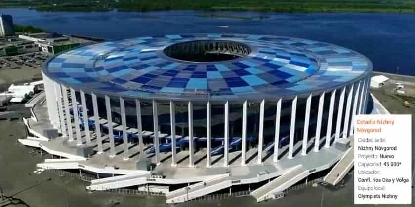 Estadio Nizhny Nóvgorod